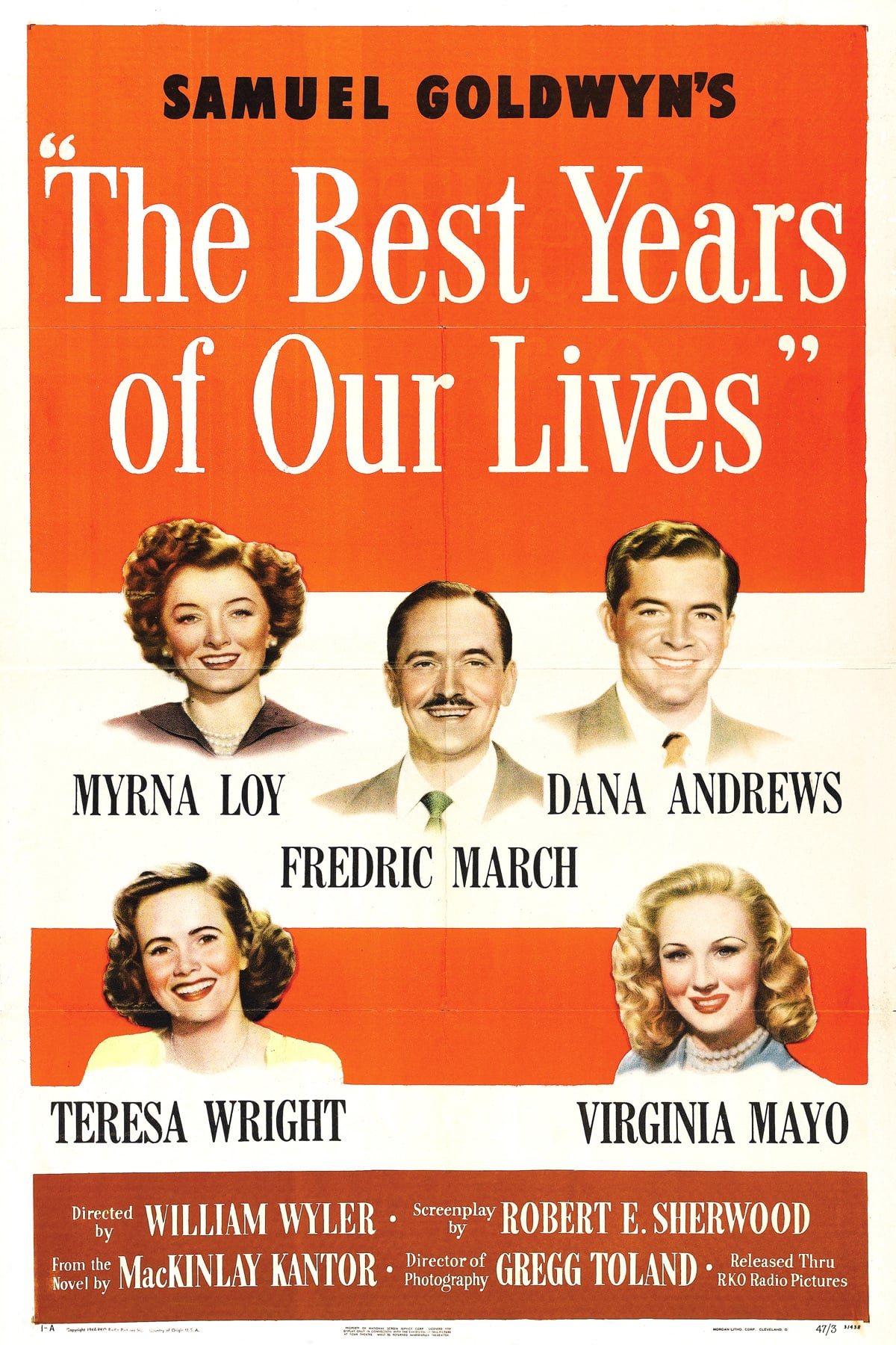 "Poster for the movie ""The Best Years of Our Lives"""