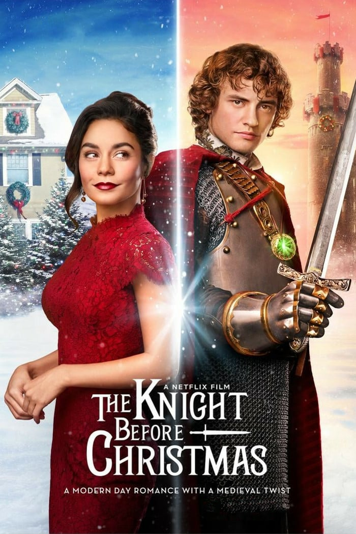 "Poster for the movie ""The Knight Before Christmas"""