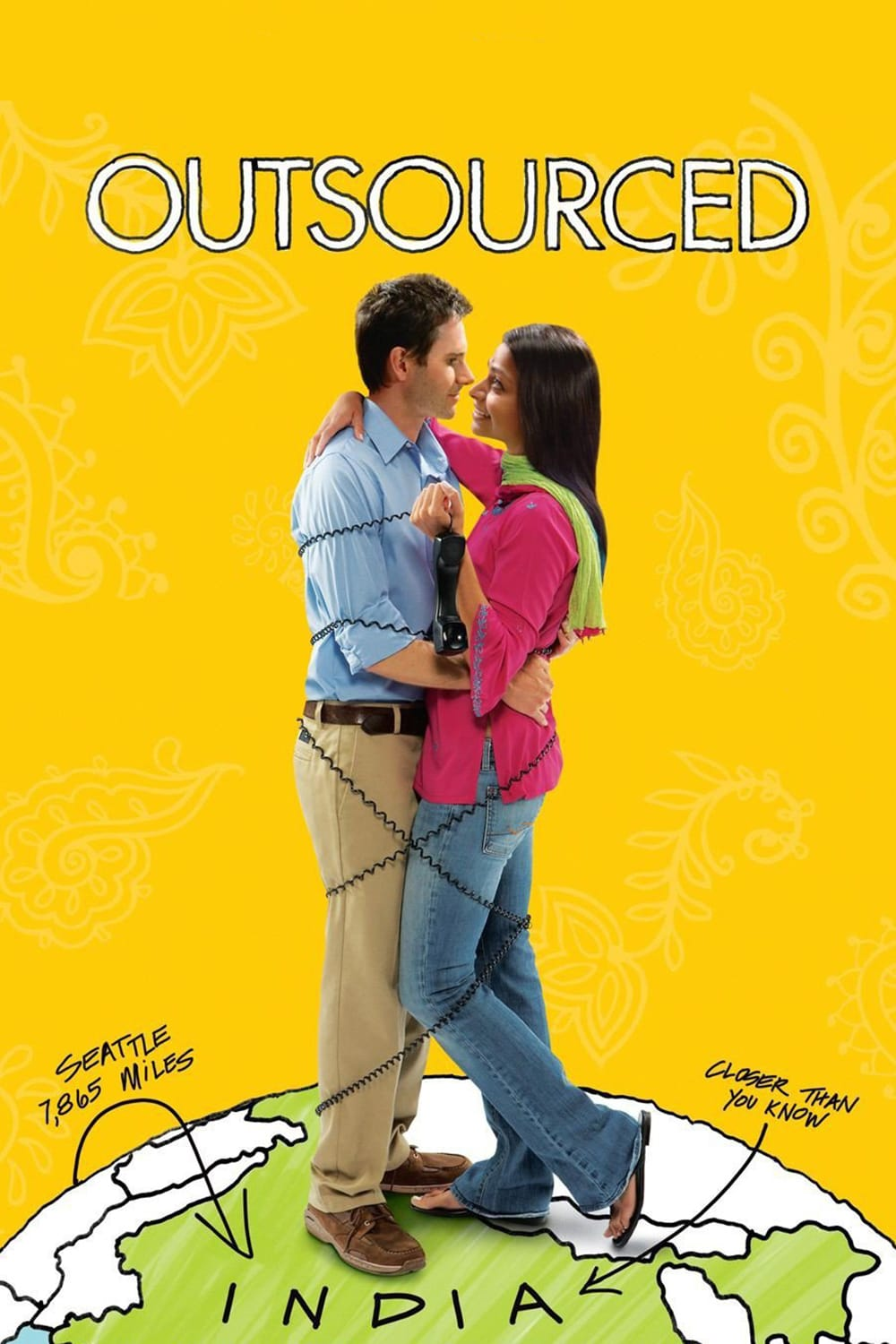 """Poster for the movie """"Outsourced"""""""