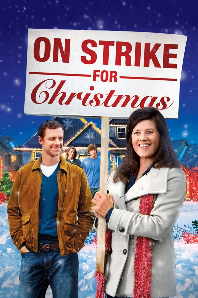 """Poster for the movie """"On Strike for Christmas"""""""