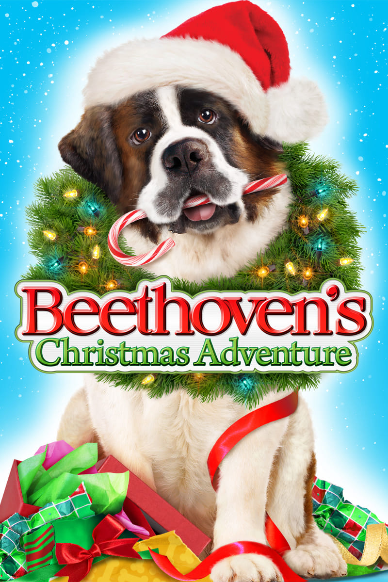 """Poster for the movie """"Beethoven's Christmas Adventure"""""""