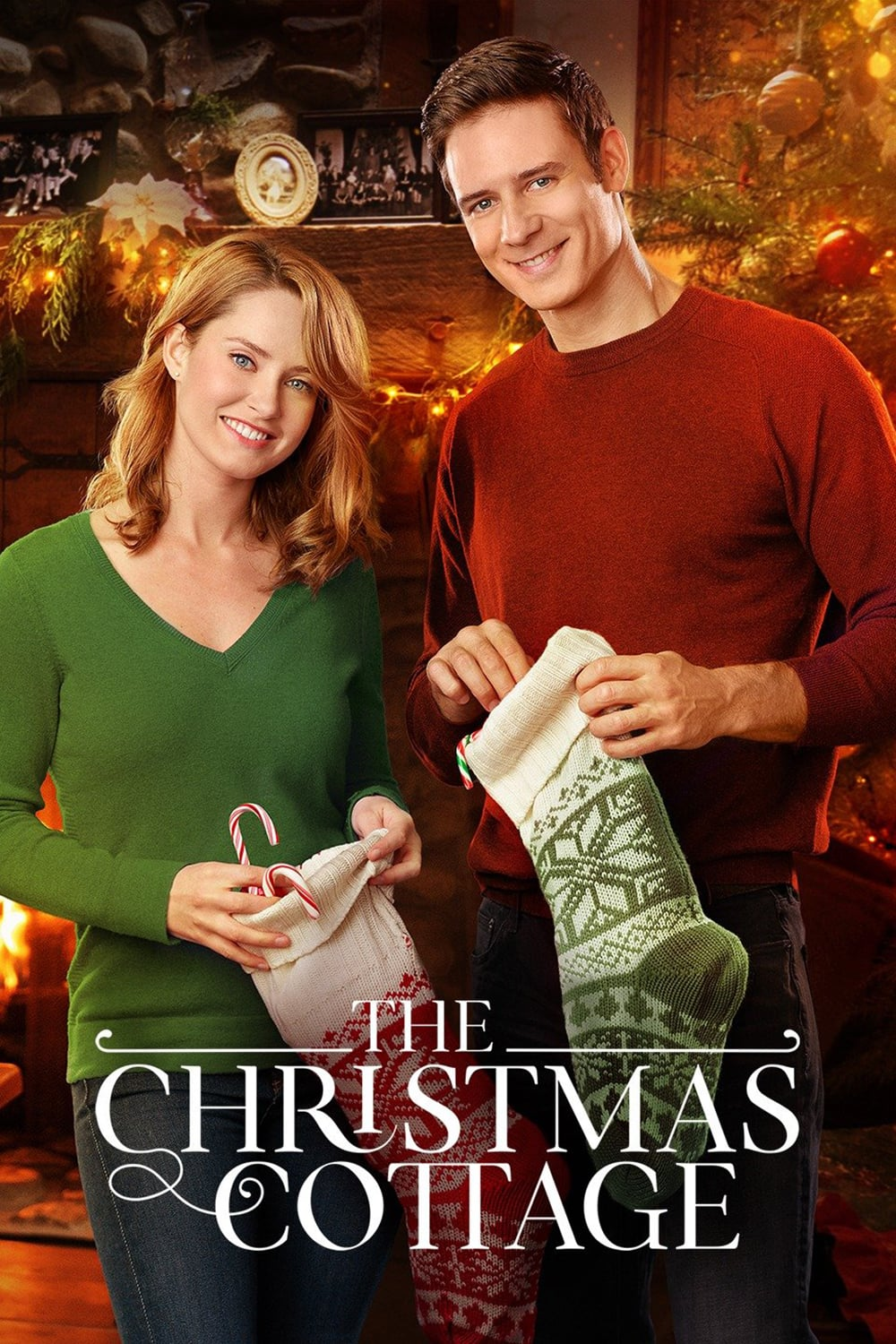 """Poster for the movie """"The Christmas Cottage"""""""