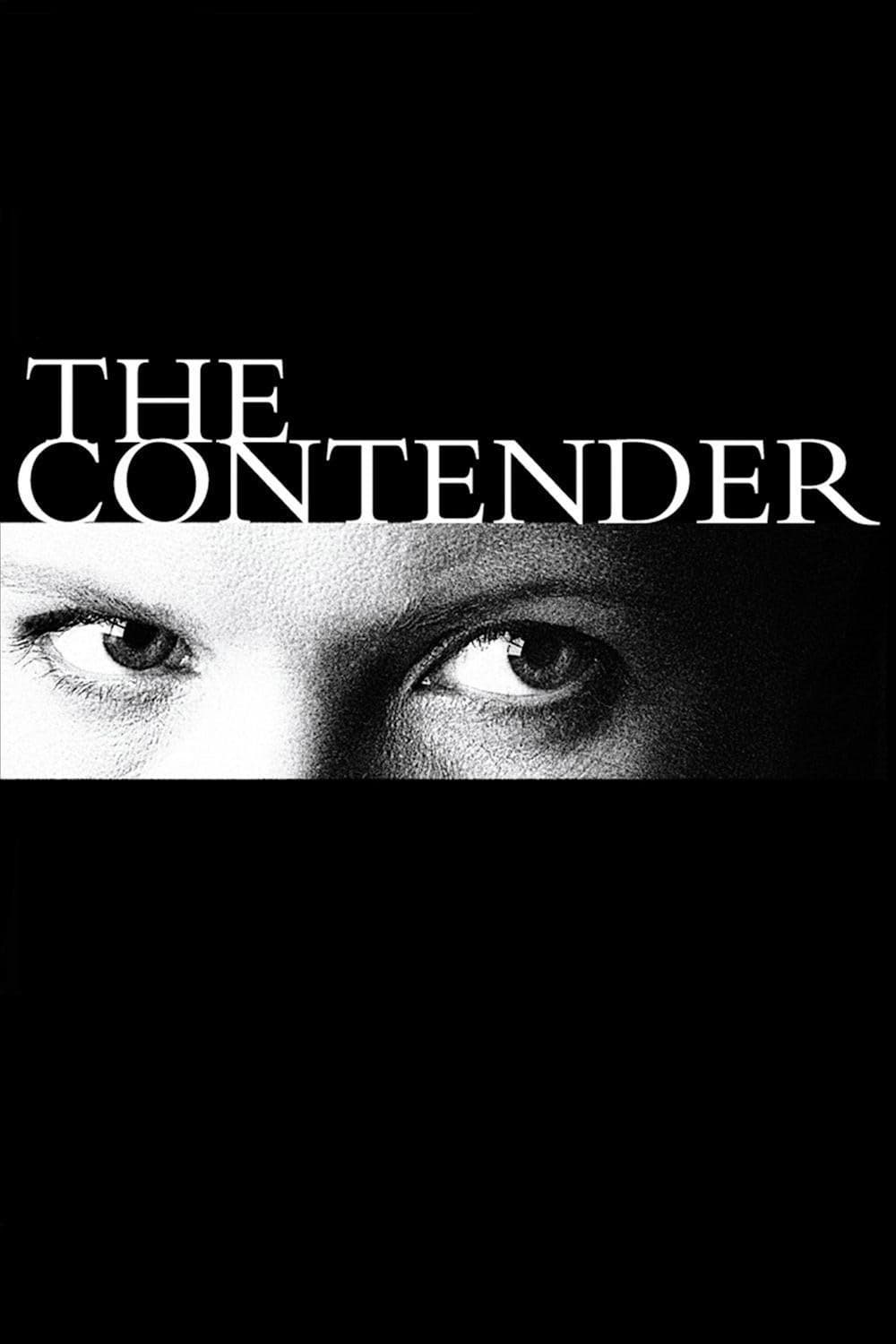 "Poster for the movie ""The Contender"""