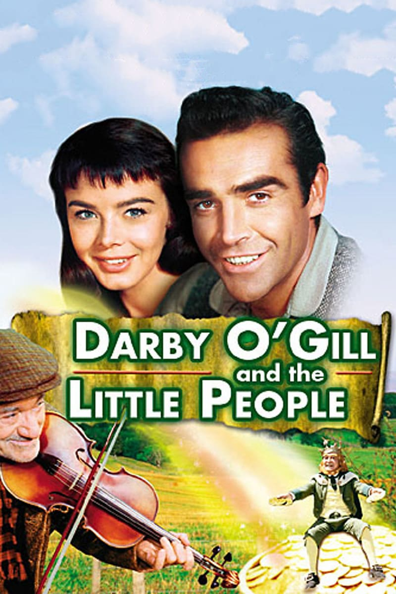 """Poster for the movie """"Darby O'Gill and the Little People"""""""
