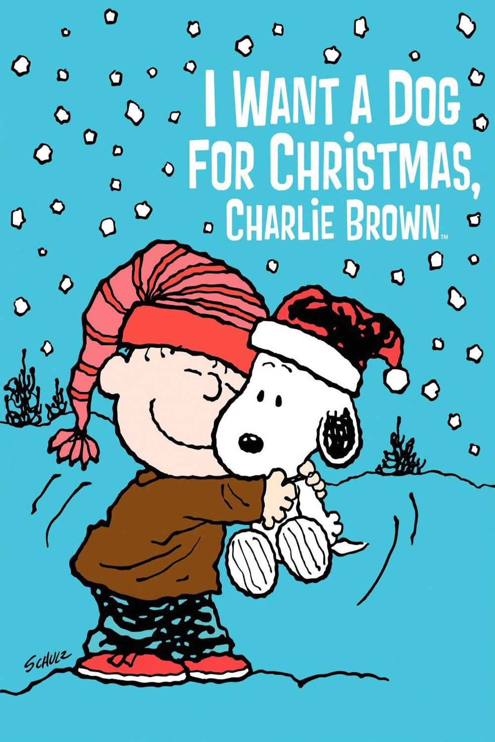 """Poster for the movie """"I Want a Dog for Christmas, Charlie Brown"""""""