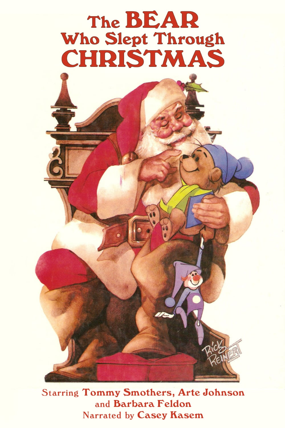 """Poster for the movie """"The Bear Who Slept Through Christmas"""""""