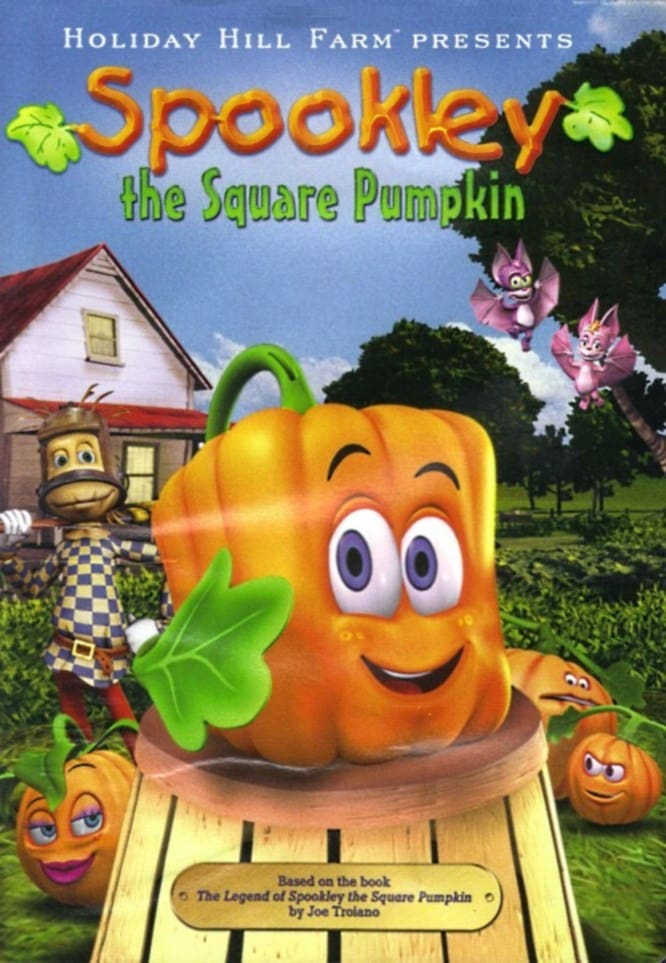 "Poster for the movie ""Spookley the Square Pumpkin"""