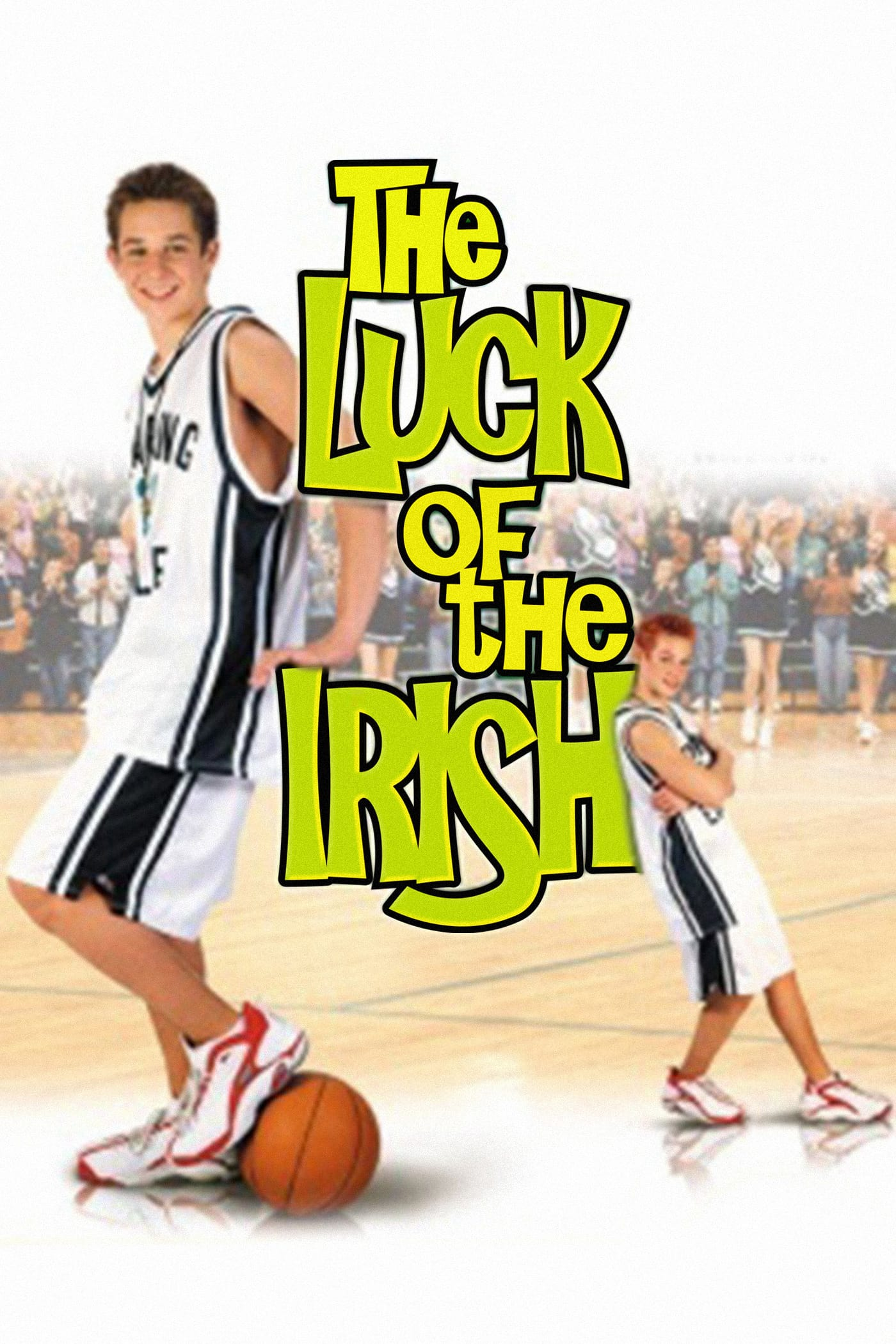"""Poster for the movie """"The Luck of the Irish"""""""