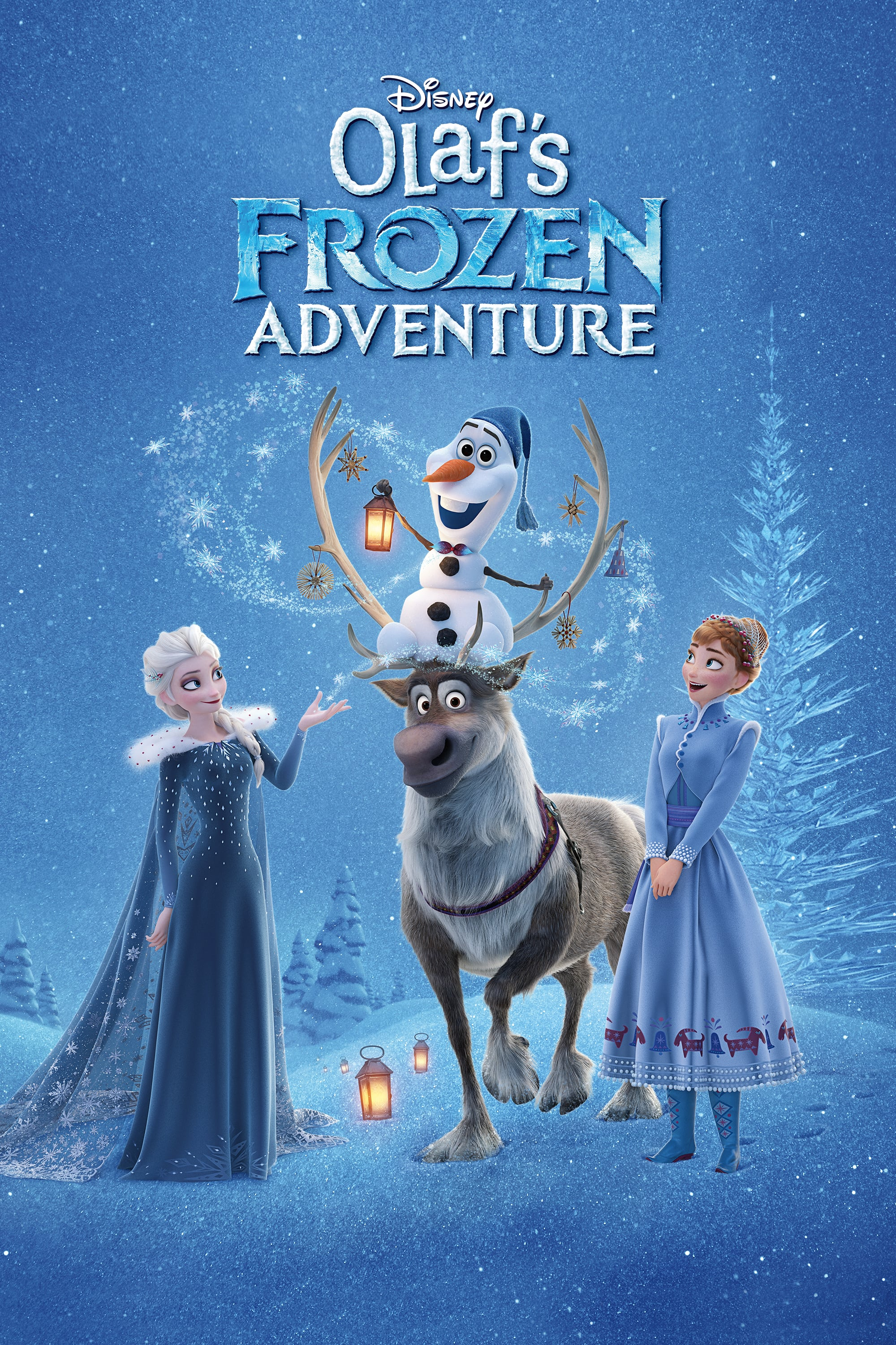 "Poster for the movie ""Olaf's Frozen Adventure"""
