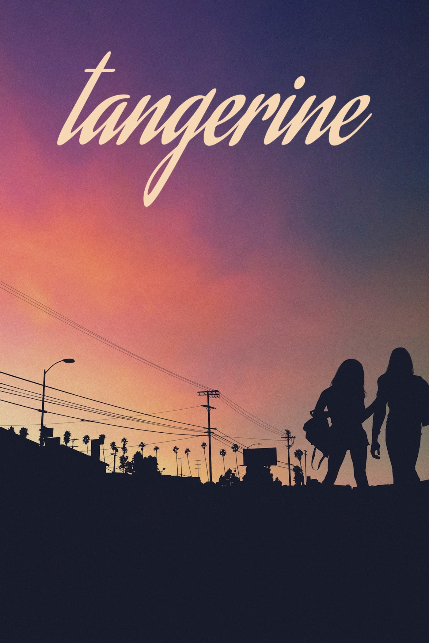 "Poster for the movie ""Tangerine"""