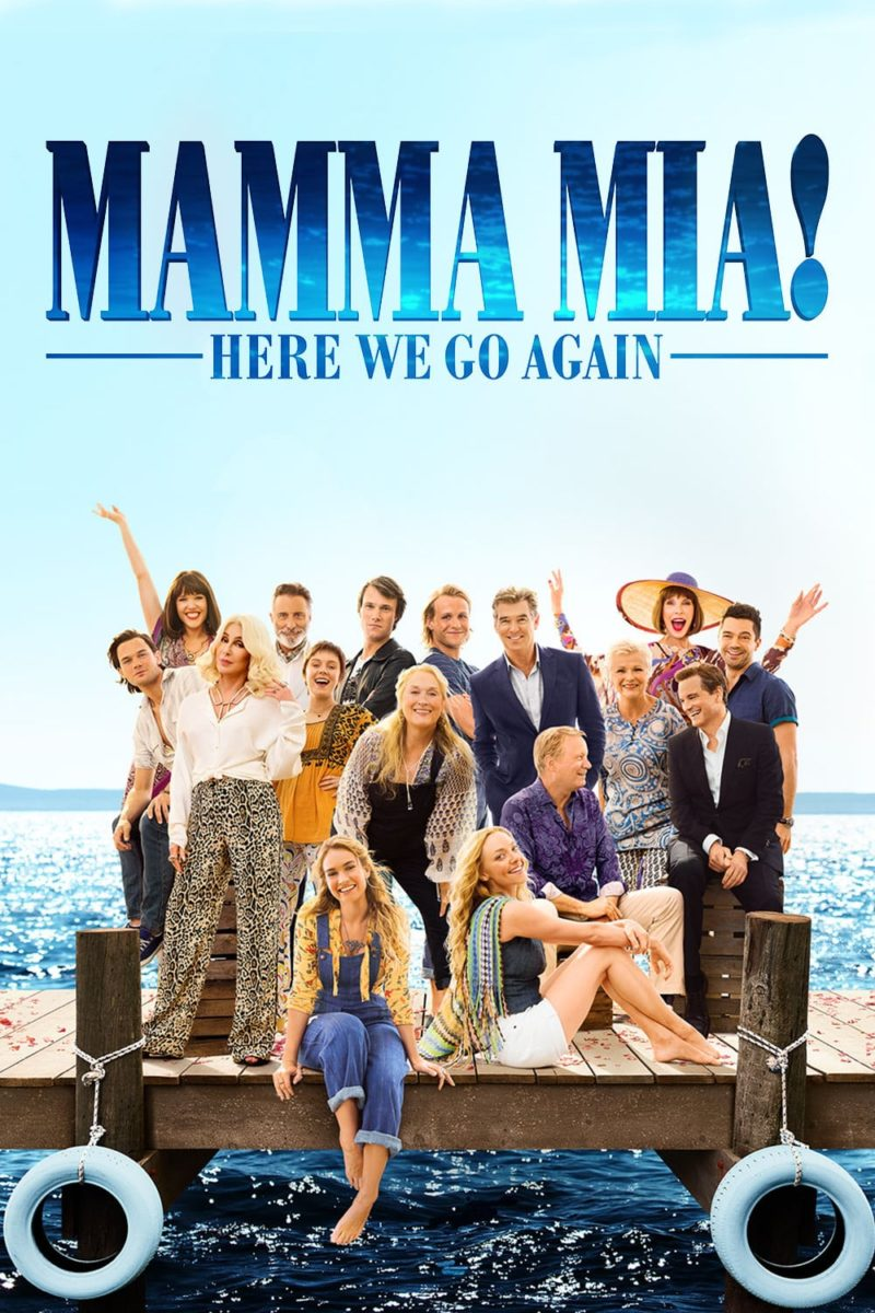 """Poster for the movie """"Mamma Mia! Here We Go Again"""""""