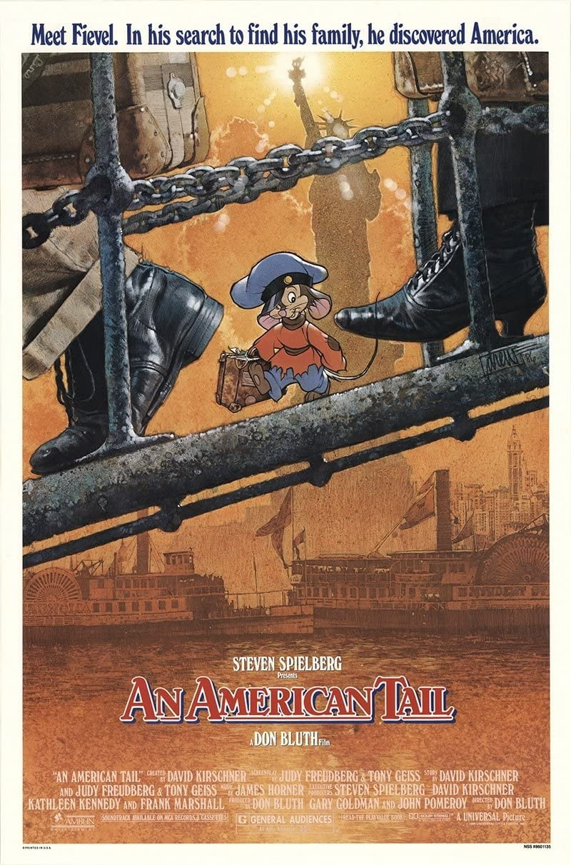 """Poster for the movie """"An American Tail"""""""