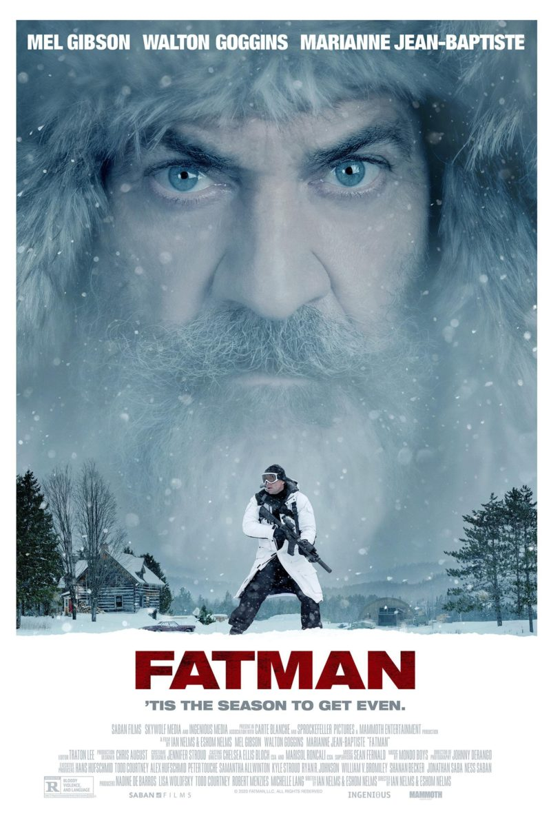 """Poster for the movie """"Fatman"""""""