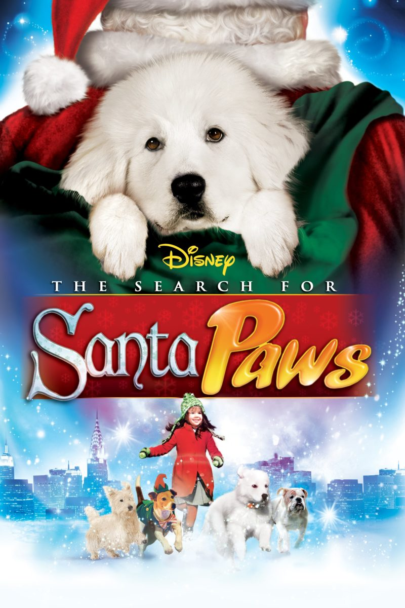 """Poster for the movie """"The Search for Santa Paws"""""""