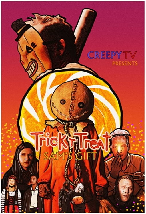 """Poster for the movie """"Trick 'r Treat: Sam's Gift"""""""